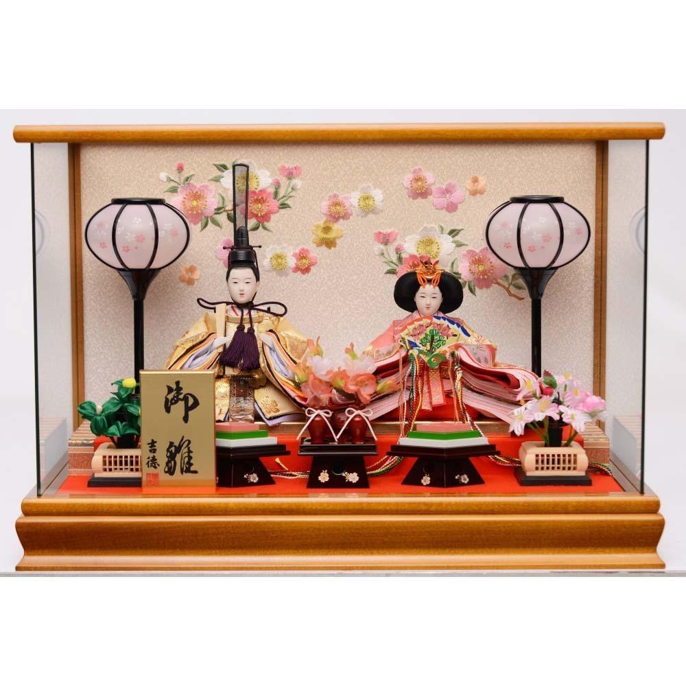 【雛人形】ベビーザらス限定 ケース親王飾り「桜刺繍パノラマ」【送料無料】