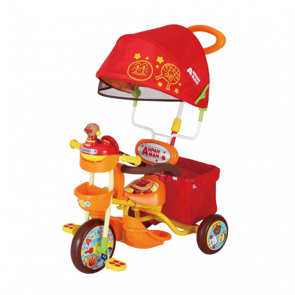 【オンライン限定価格】それいけ!アンパンマンデラックス2 三輪車 オレンジ【送料無料】