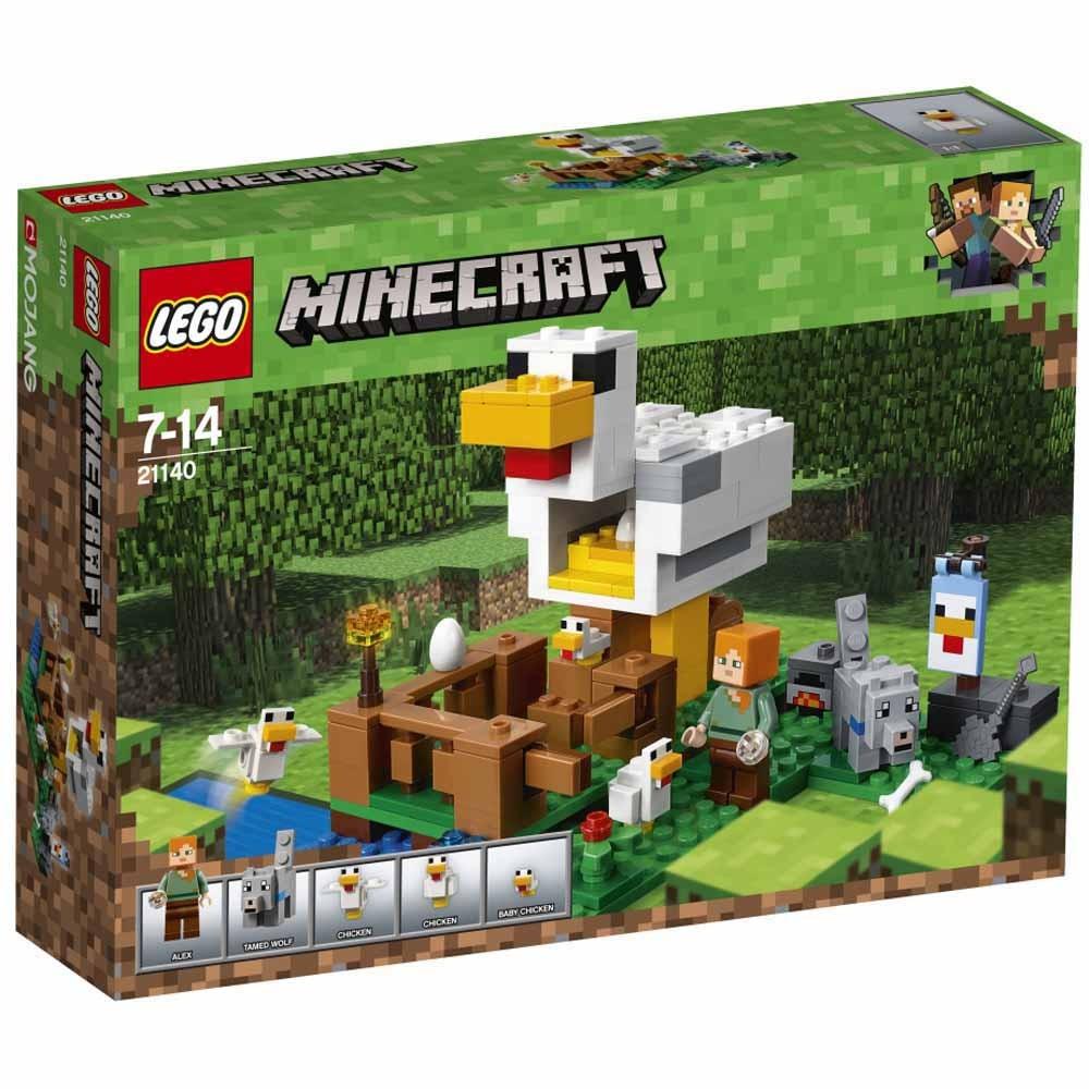 【オンライン限定価格】レゴ マインクラフト 21140 ニワトリ小屋