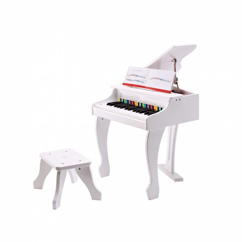 Hape デラックスグランドピアノ(白色)【クリアランス】【送料無料】