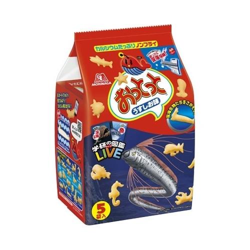 NEW おっとっと うすしお味 お菓子 5☆大好評 5袋
