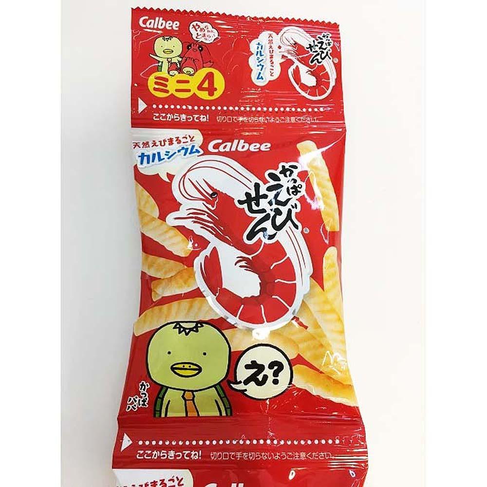 爆買い新作 かっぱえびせんミニ 4連 安い お菓子