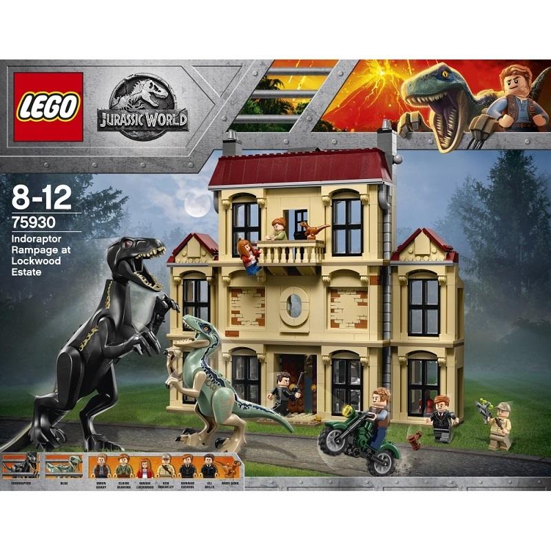 レゴ ジュラシック・ワールド 75930 インドラプトル、ロックウッド邸で大暴れ【送料無料】