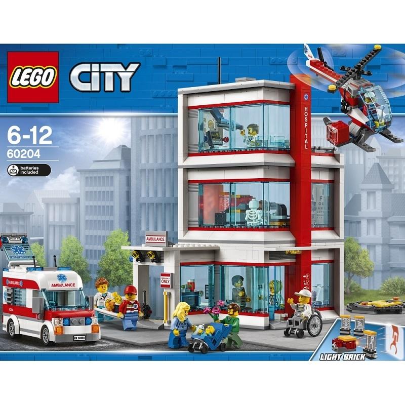 レゴ シティ 60204 レゴ(R)シティ病院【送料無料】