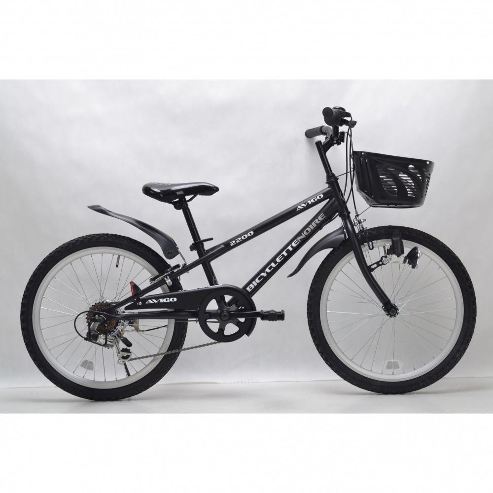 トイザらス AVIGO 22インチ 子供用自転車 ブラックバイク