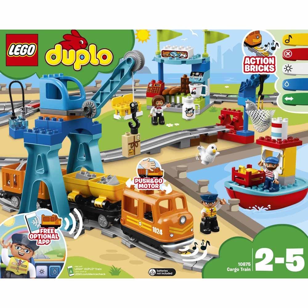 レゴ デュプロ 10875 キミが車掌さん!おしてGO機関車スーパーデラックス【送料無料】