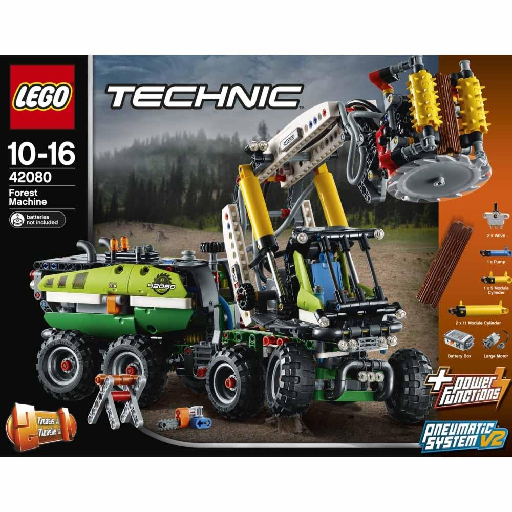 レゴ テクニック 42080 森林作業車【送料無料】