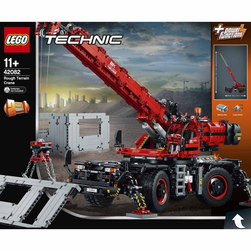 レゴ テクニック 42082 全地形対応型クレーン【オンライン限定】【送料無料】