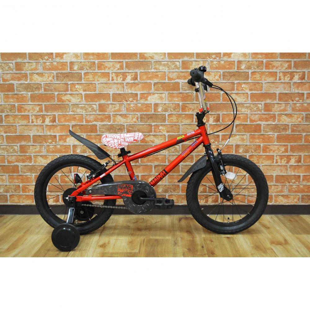 トイザらス限定 16インチ 子供用自転車 MARVEL MX(レッド)