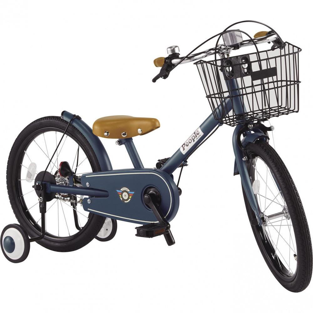 共伸びサイクル 18インチ 子供用自転車(ディープターコイズ)