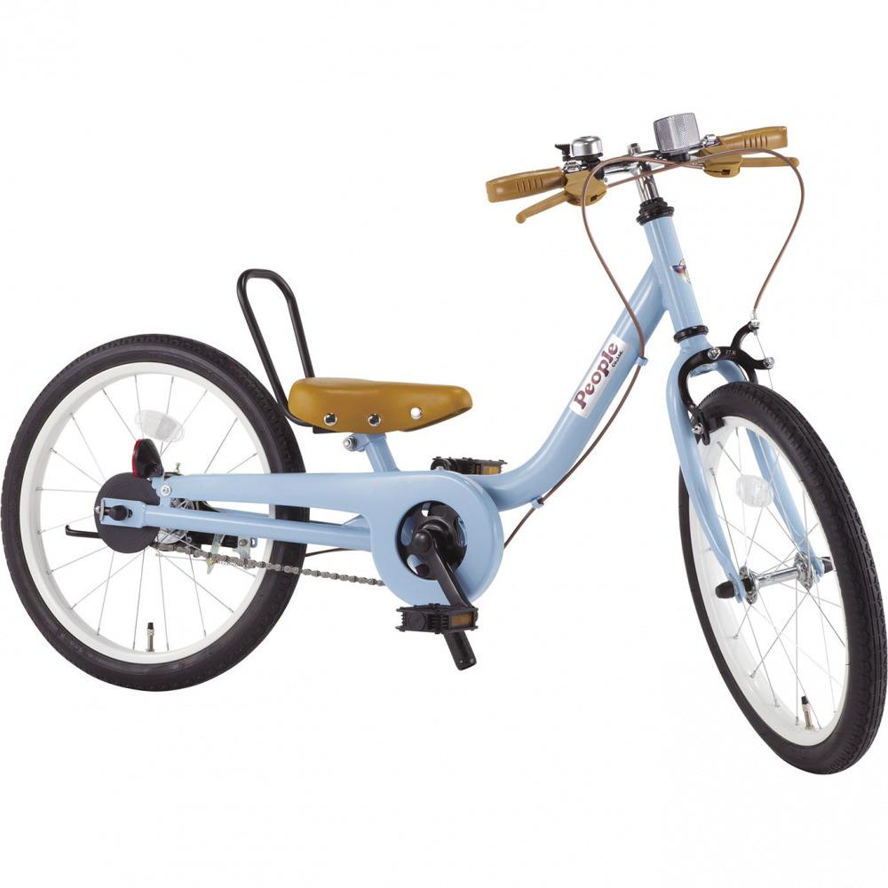 ケッターサイクル 18インチ 子供用自転車 ブルーグレイ