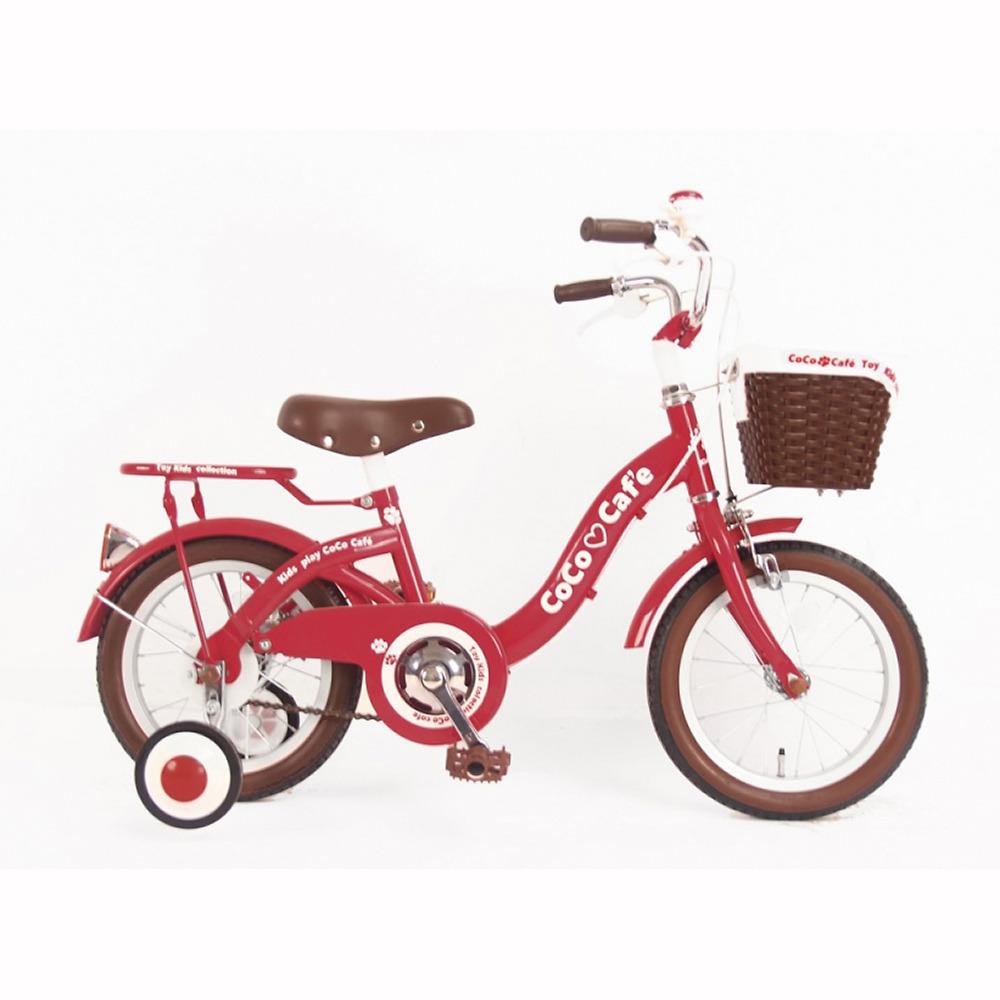 トイザらス限定 14インチ 子供用自転車 ココカフェキッズ(レッド)