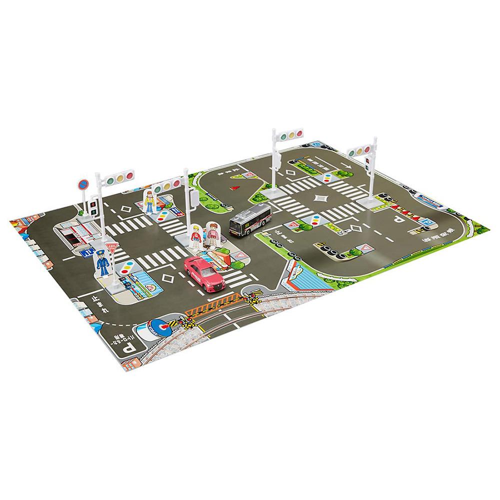 トミカ SALE ストア 信号 標識 交通安全セット マップで免許をゲット