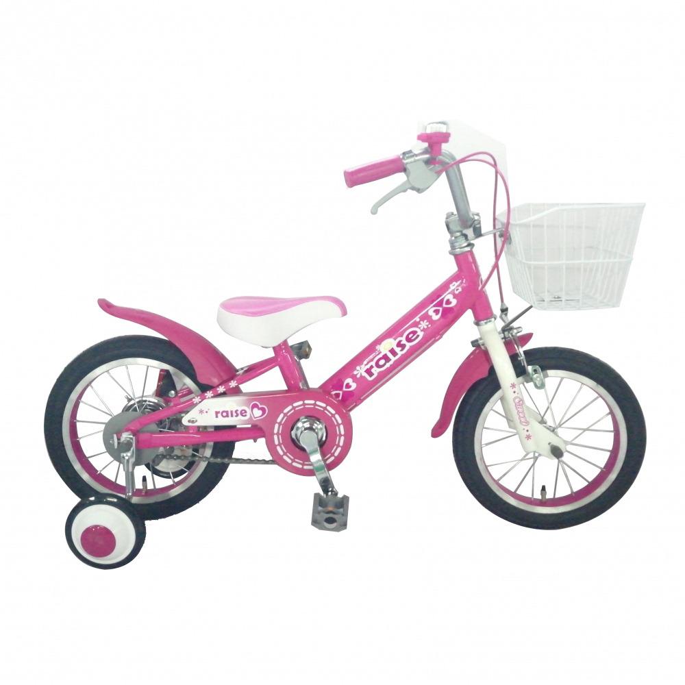 トイザらス限定 14インチ 子供用自転車 RAISE アルバニー ピンク
