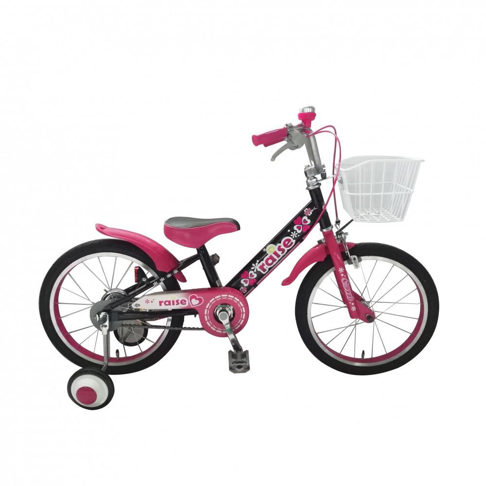 トイザらス限定 18インチ 子供用自転車 RAISE アルバニー ピンク/ブラック
