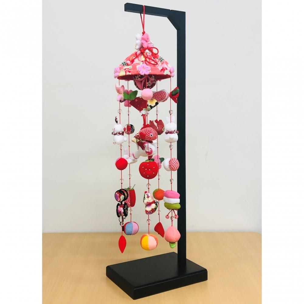 【雛人形】ベビーザらス限定 吊るし飾り 大 ピンク【送料無料】