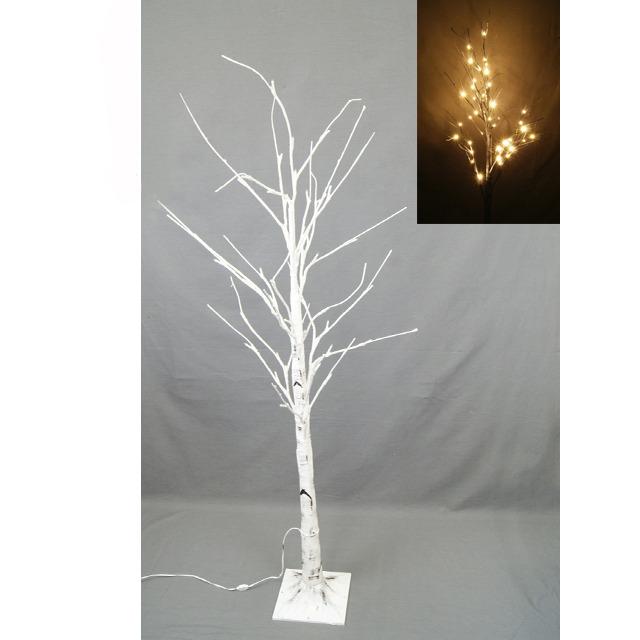 【クリスマスツリー】ホワイトブランチライトツリースタンド 120cm【オンライン限定】【送料無料】