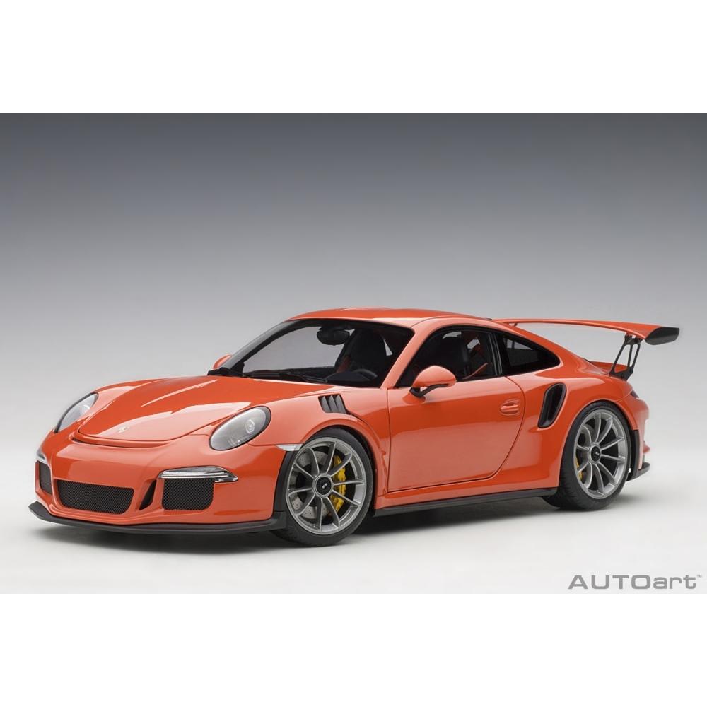 1/18 ポルシェ 911 (991) GT3 RS(オレンジ)【オンライン限定】【送料無料】