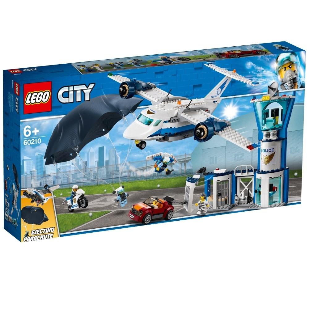 レゴ シティ 60210 空のポリス指令基地【送料無料】