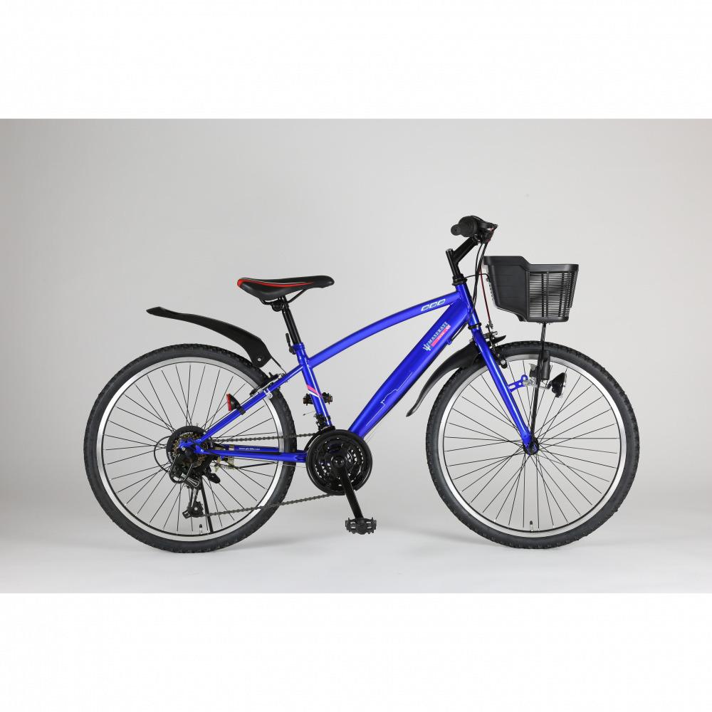 トイザらス限定 24インチ 子供用自転車 マセラティ ジュニアCTB-TZ(ブルー)