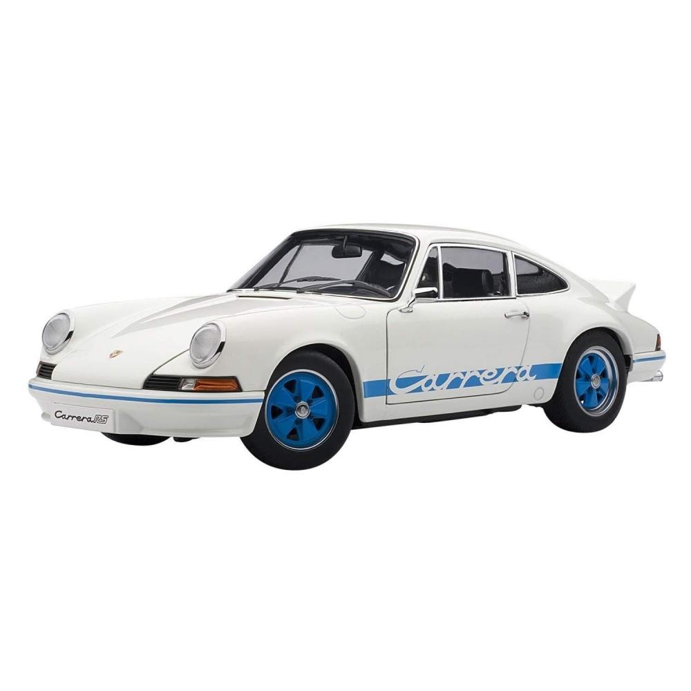 1/18 ポルシェ 911 カレラ RS 2.7 1973 (ホワイト・ブルー)【オンライン限定】【送料無料】