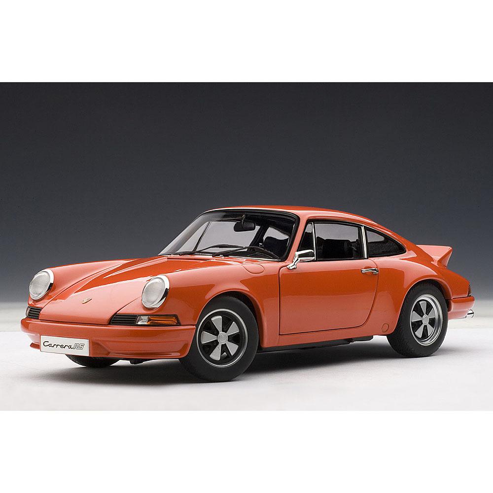 1/18 ポルシェ 911 カレラ RS 2.7 1973 (オレンジ)【オンライン限定】【送料無料】