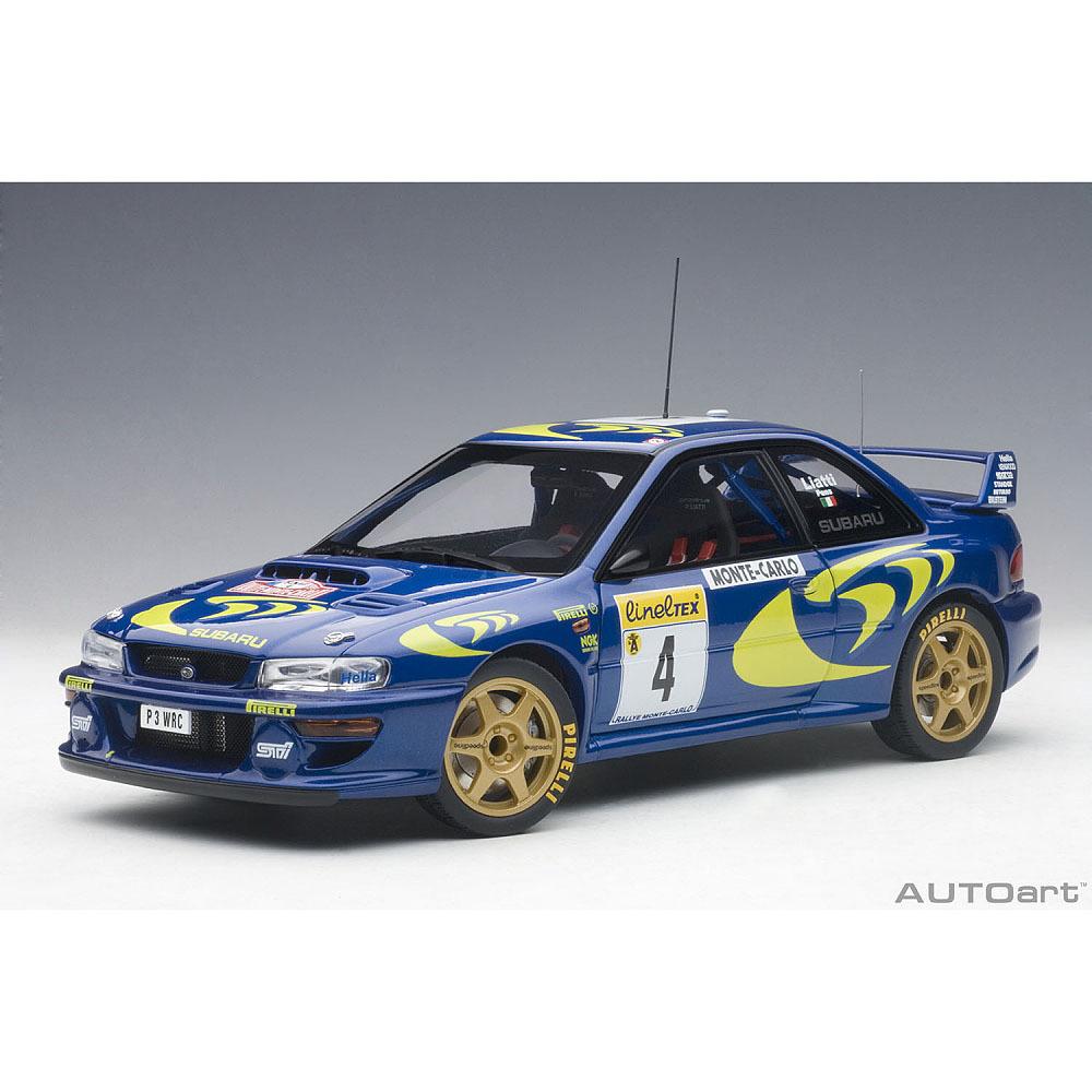 1/18 スバル インプレッサ WRC 1997 #4 (リアッティ/ポンス) モンテカルロ優勝【オンライン限定】【送料無料】