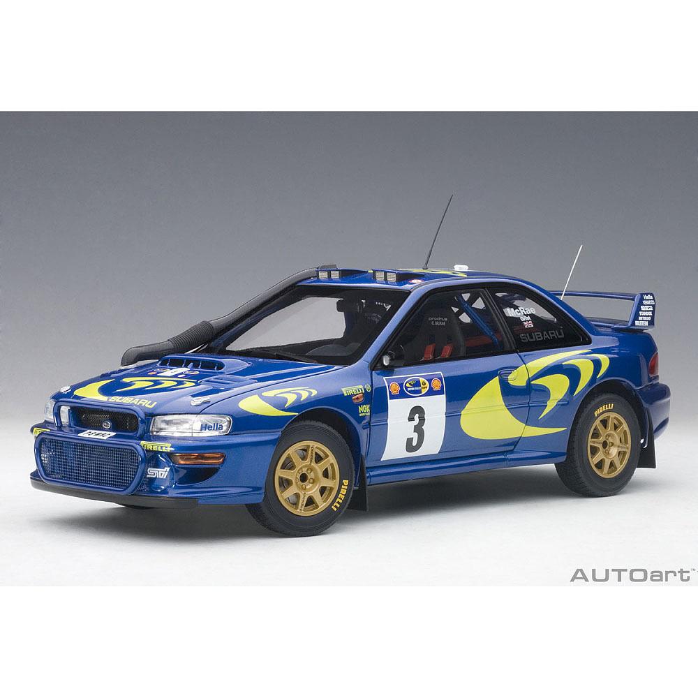 1/18 スバル インプレッサ WRC 1997 #3 (コリン・マクレー/ニッキー・グリスト) ※サファリラリー優勝【オンライン限定】【送料無料】