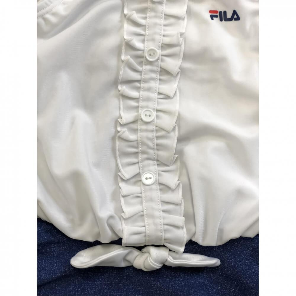 5f892cc6cb1 楽天市場】FILA ガールズ ワンピース水着(ホワイト×90cm):トイザらス ...