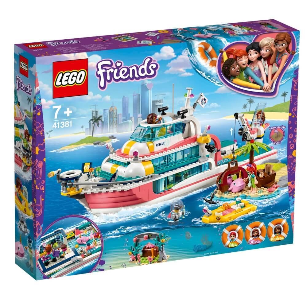 レゴ フレンズ 41381 SALENEW大人気 永遠の定番モデル 送料無料 海のどうぶつレスキュークルーザー