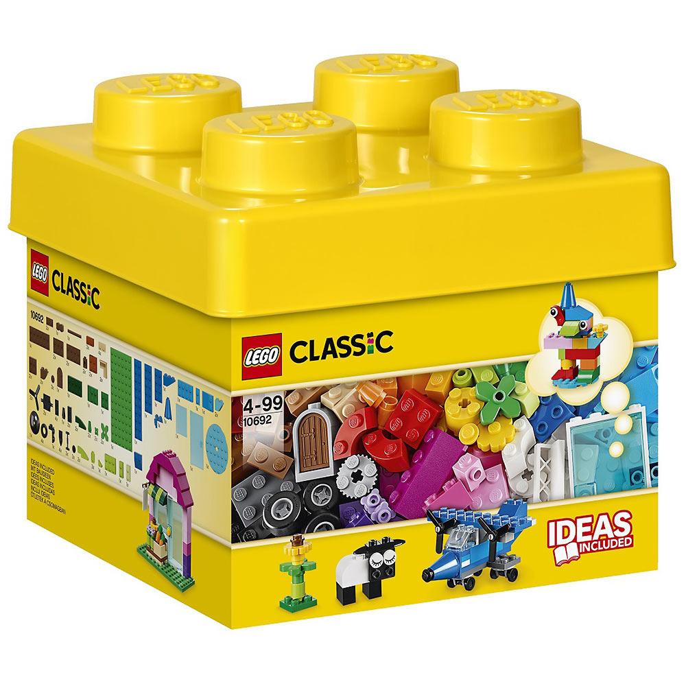レゴ クラシック 10692 訳ありセール 格安 ※アウトレット品 ベーシック 黄色のアイデアボックス