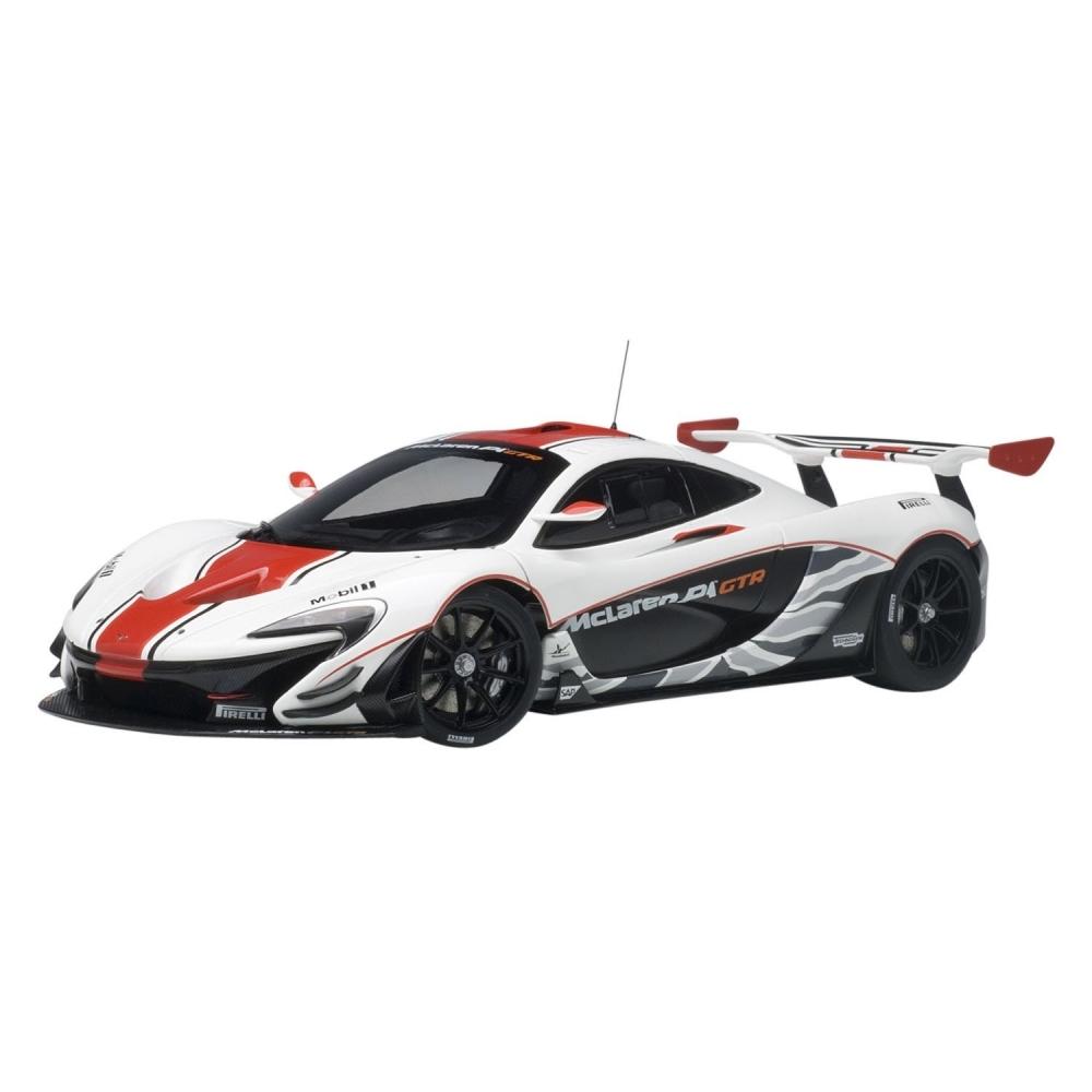 1/18 マクラーレン P1 GTR (ホワイト/レッド)【オンライン限定】【送料無料】