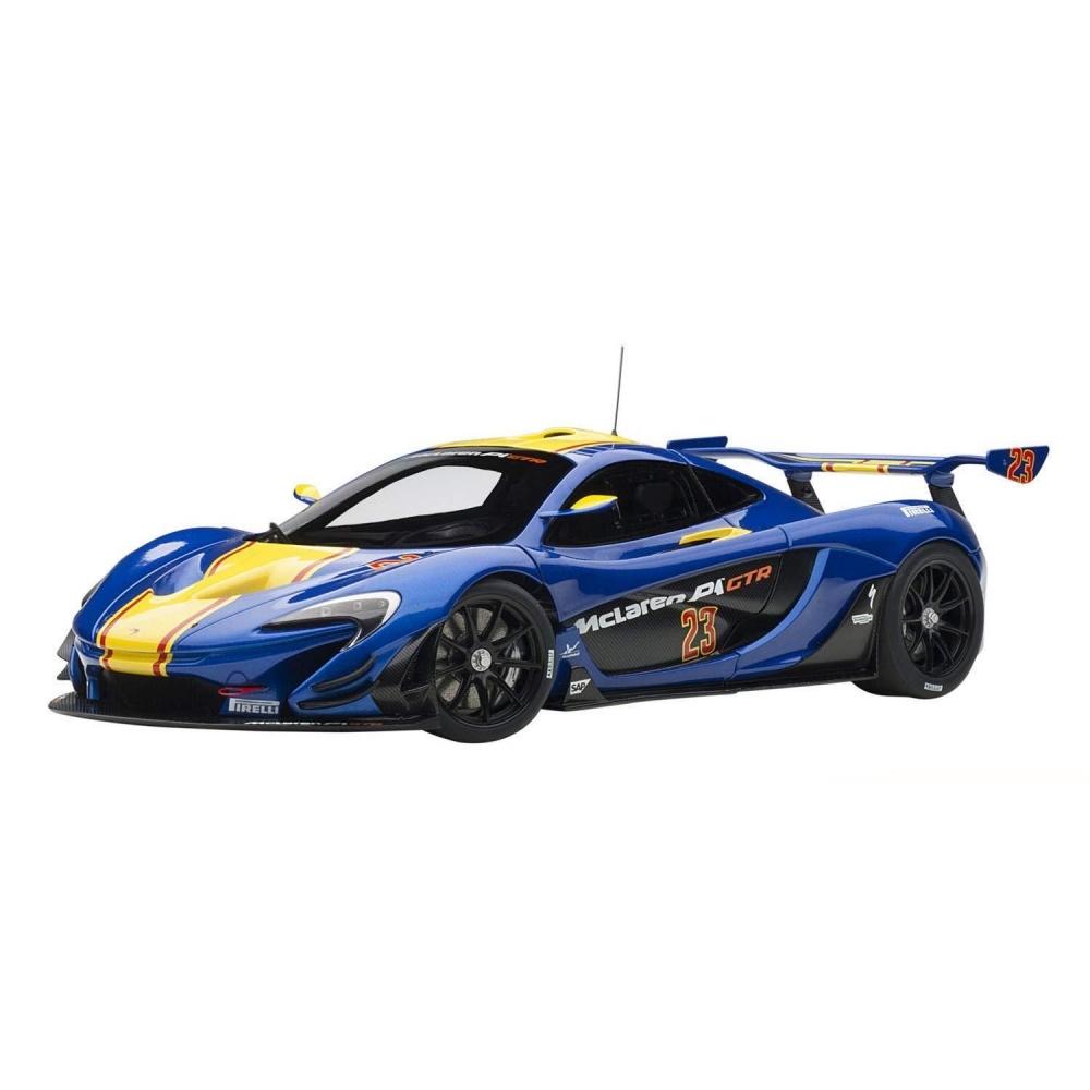 1/18 マクラーレン P1 GTR (ブルー/イエロー)【オンライン限定】【送料無料】