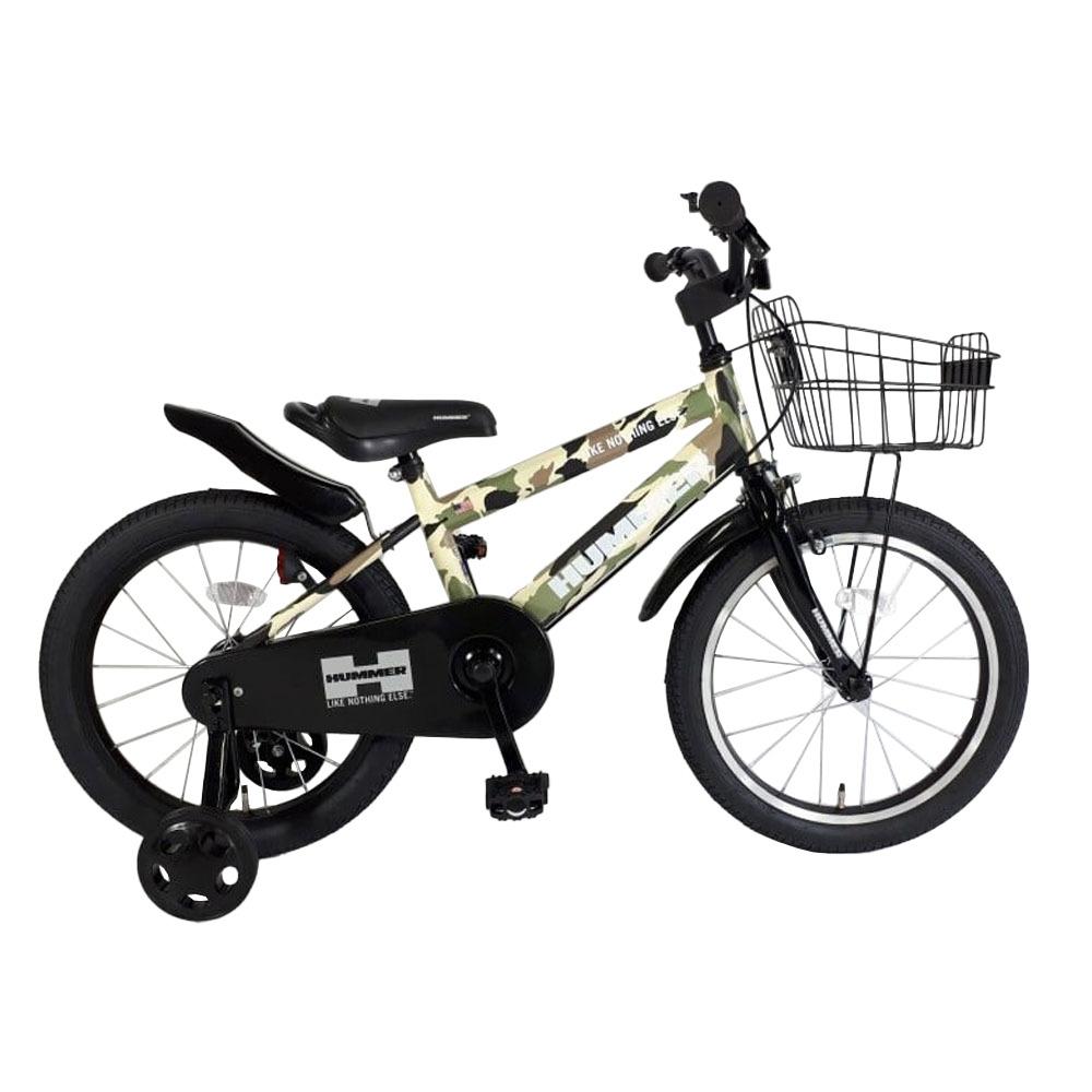 即納送料無料 トイザらス限定 18インチ 子供用自転車 ハマーキッズ18‐TZ 超定番 カモフラージュ