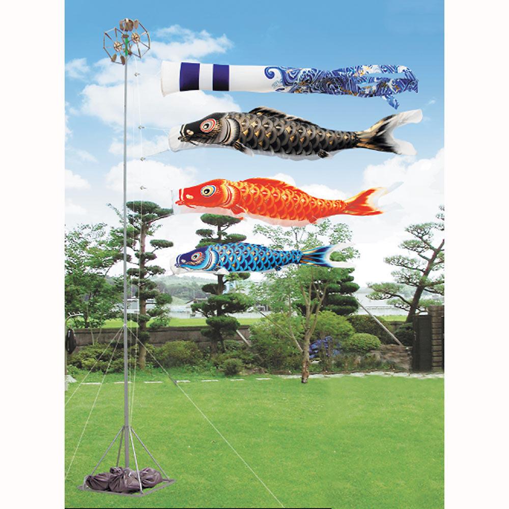 【鯉のぼり】ベビーザらス限定 庭園金箔スタンドセット 3.0m【送料無料】