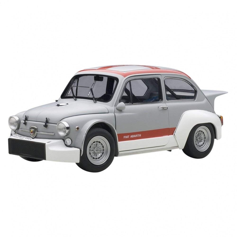 1/18 フィアット アバルト 1000 TCR (グレー/レッド・ストライプ)【オンライン限定】【送料無料】