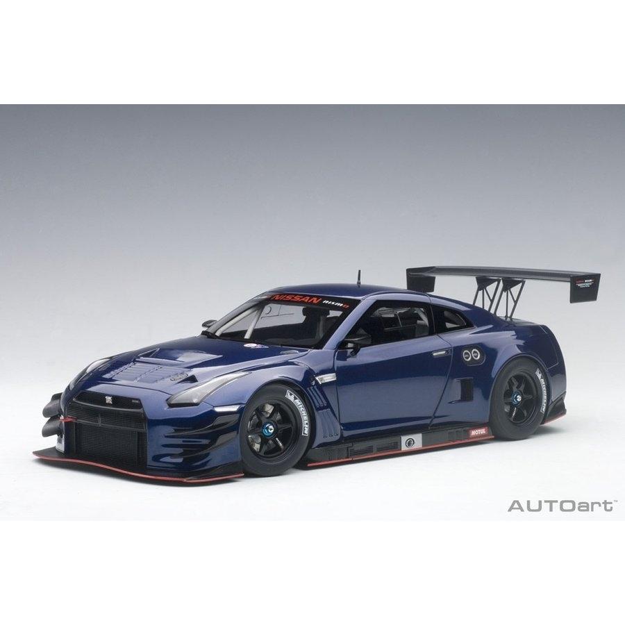 1/18 日産 GT-R NISMO GT3(ブルー・パール)【オンライン限定】【送料無料】
