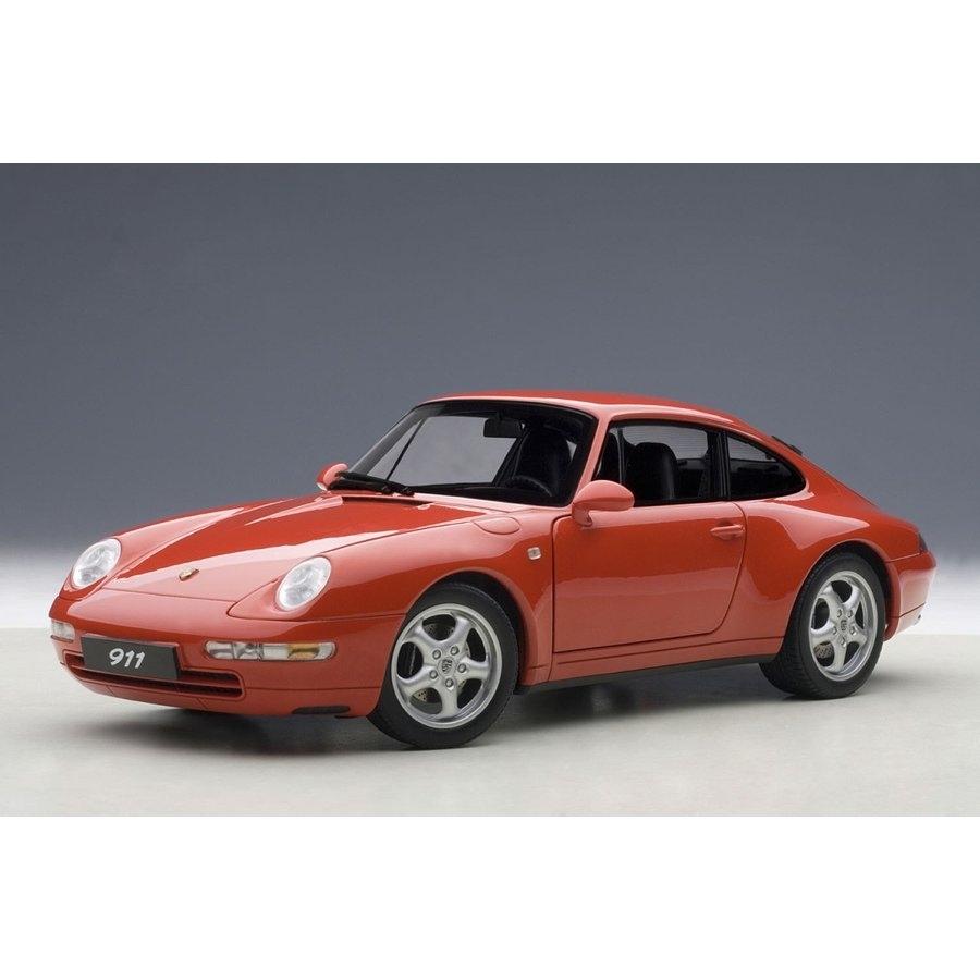 1/18 ポルシェ 911 (993) カレラ 1995 (レッド) 【オンライン限定】【送料無料】