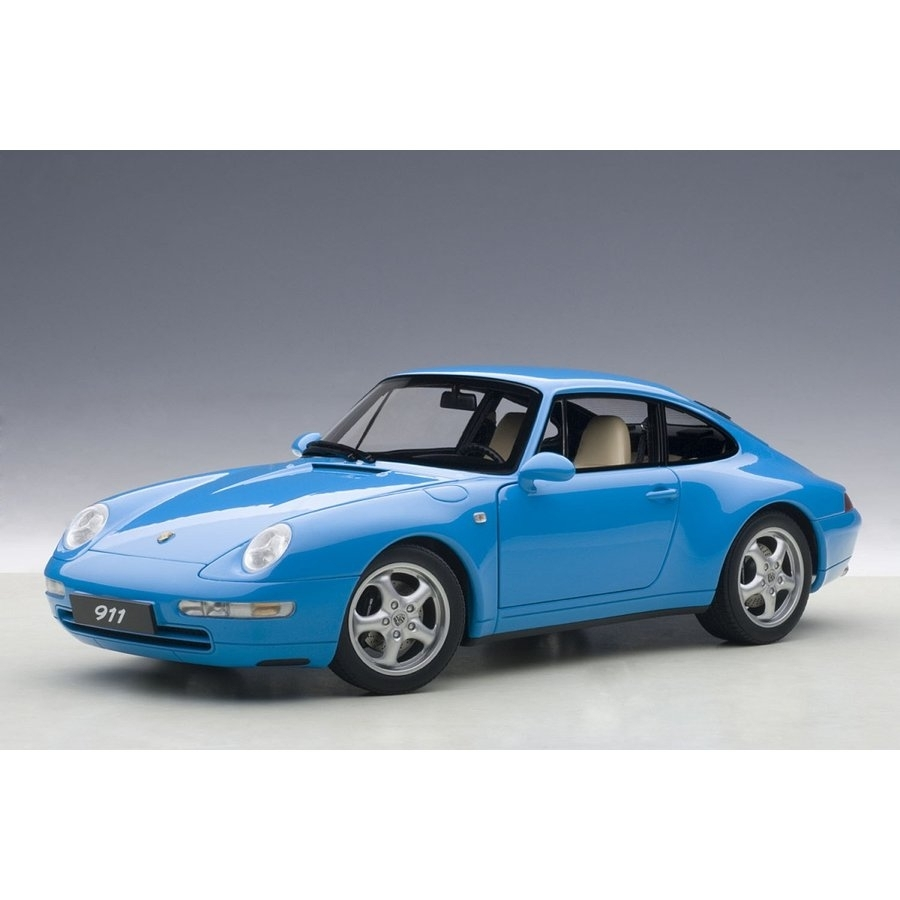 1/18 ポルシェ 911 (993) カレラ 1995 (ブルー) 【オンライン限定】【送料無料】