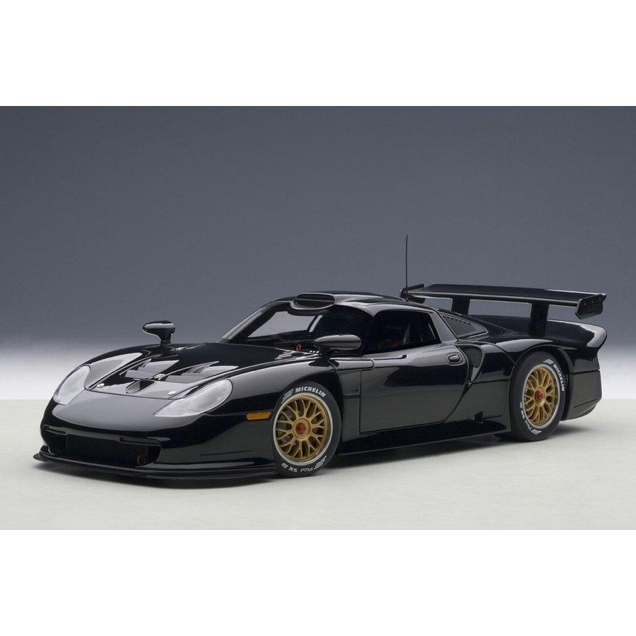 1/18 ポルシェ 911 GT1 1997 プレーンボディ (ブラック)【オンライン限定】【送料無料】