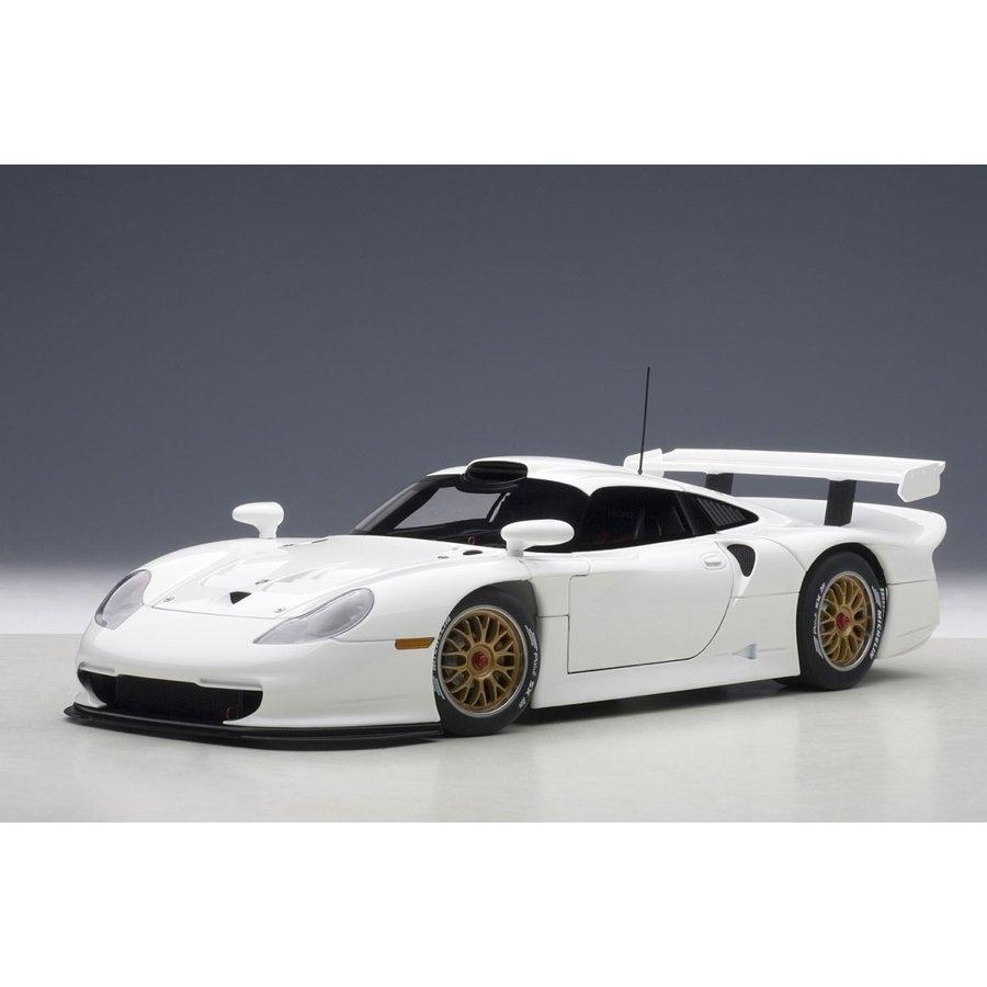 1/18 ポルシェ 911 GT1 1997 プレーンボディ (ホワイト)【オンライン限定】【送料無料】