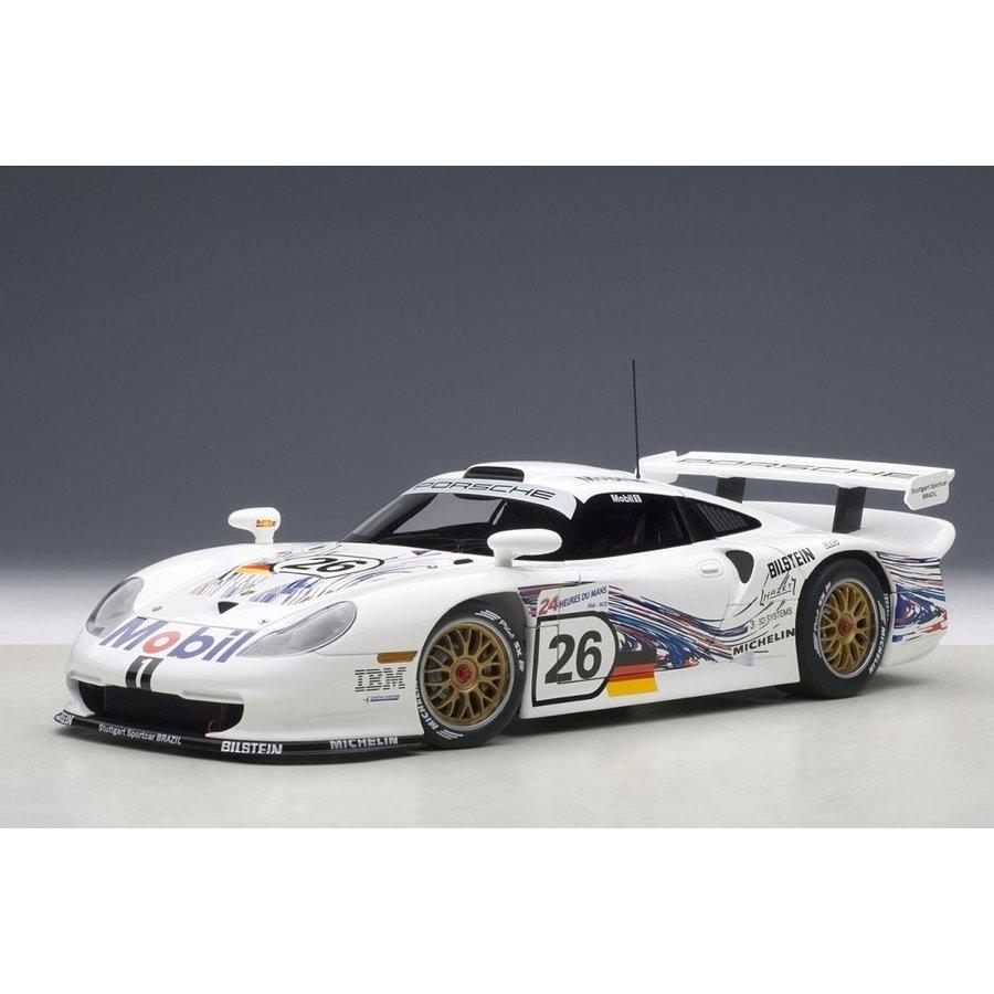 1/18 ポルシェ 911 GT1 1997 #26 ル・マン (コラード/ケレナーズ/ダルマス)【オンライン限定】【送料無料】