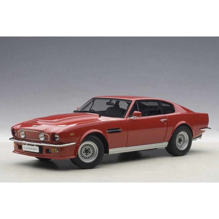 1/18 アストンマーチン V8 ヴァンテージ 1985 (レッド)【オンライン限定】【送料無料】
