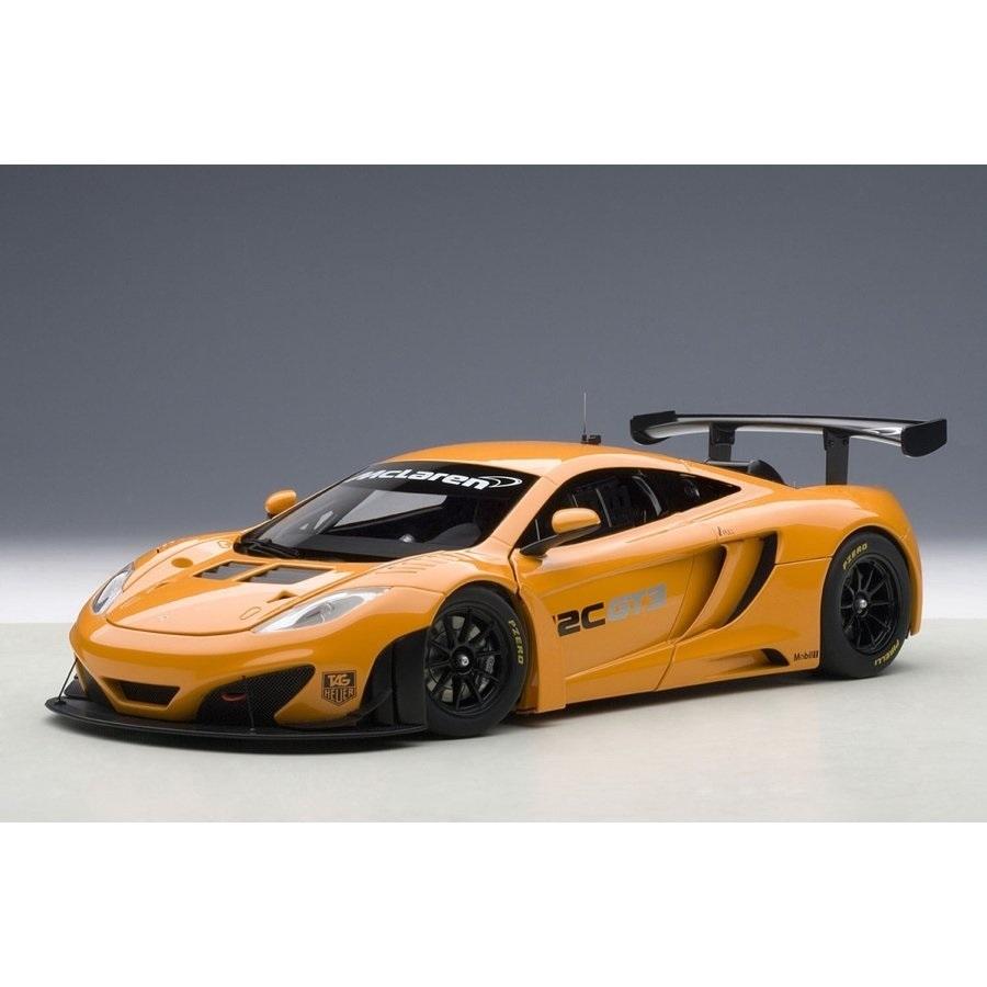 1/18 マクラーレン MP4-12C GT3 プレゼンテーションカー (オレンジ)【オンライン限定】【送料無料】