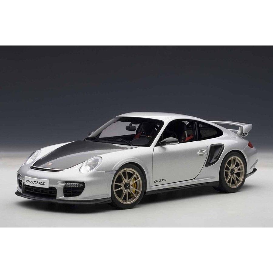 1/18 ポルシェ 911 (997) GT2 RS (シルバー)【オンライン限定】【送料無料】