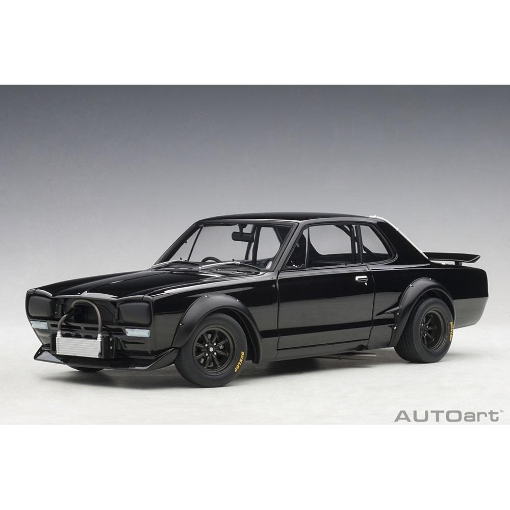 1/18 日産 スカイライン GT-R (KPGC10) レーシング 1972 (ブラック)【オンライン限定】【送料無料】