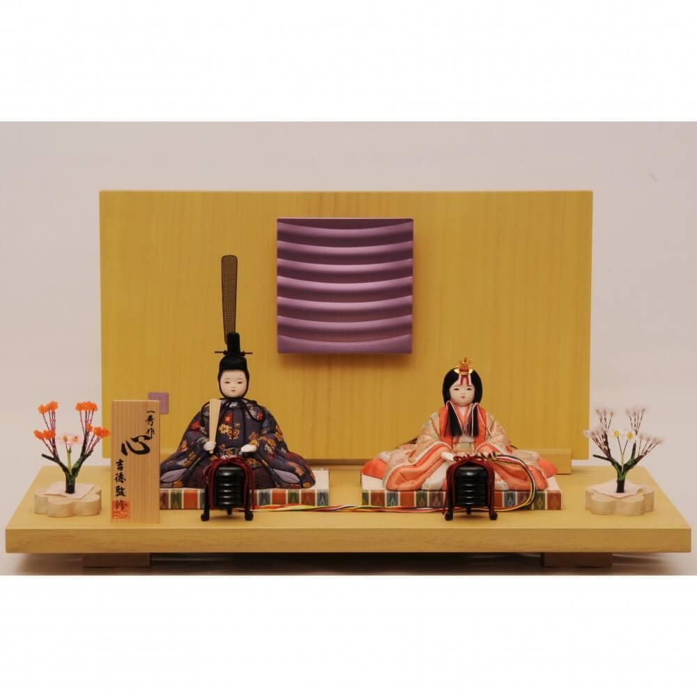 【雛人形】ベビーザらス限定 木目込み親王飾り「心」 一秀作【送料無料】