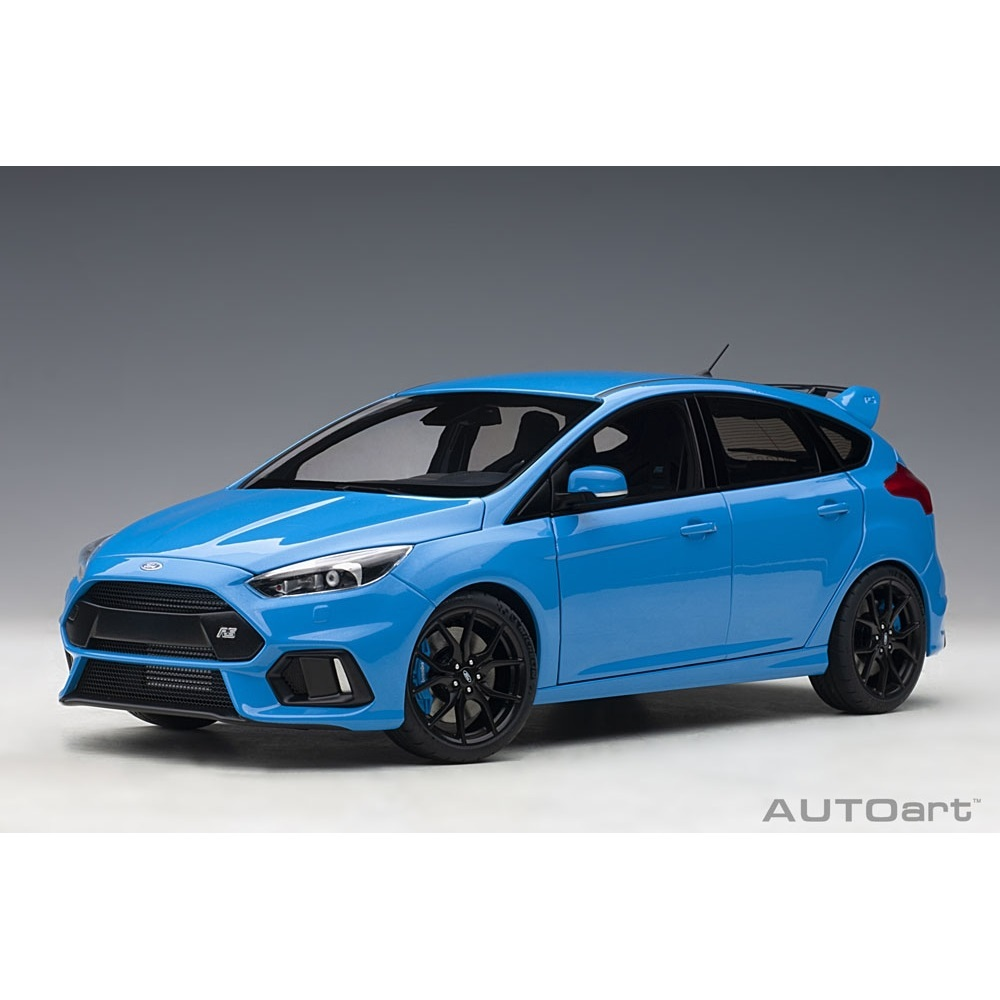1/18 フォード フォーカス RS (ブルー)【オンライン限定】【送料無料】