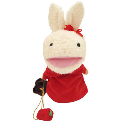 トイザらス アニマルアレイ ぬいぐるみ 指人形付き NEW売り切れる前に☆ 未使用品 お買い物ウサちゃん 30cm