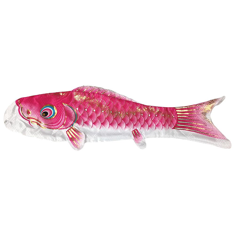 【鯉のぼり】ベランダセット大翔 1.2m ピンク単品【送料無料】